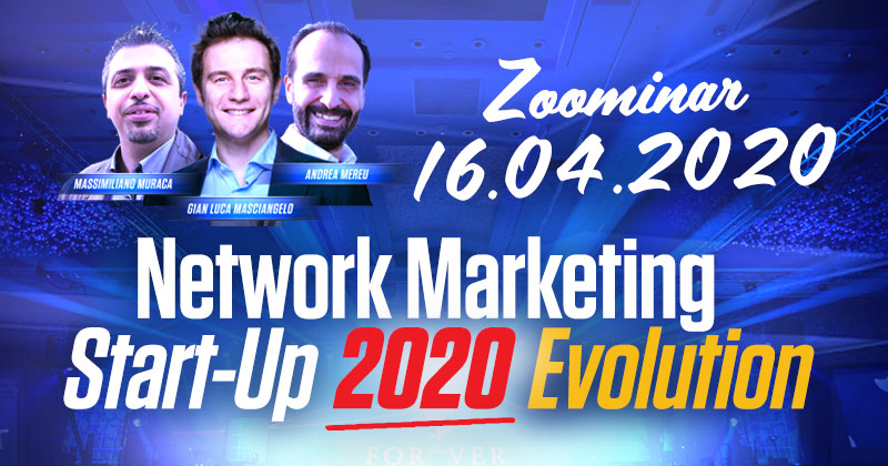 Network Marketing Start Up Evolution – Formazione Forever Living